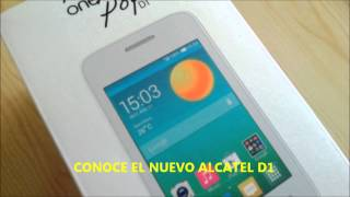 ALCATEL ONE TOUCH POP D1 (introduccion)
