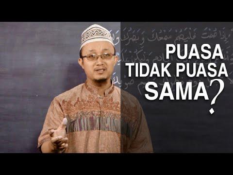 Tausiyah Ramadhan 9: Puasa Tidak Puasa Sama Saja? - Ustadz Aris Munandar