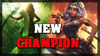 *NEW MID LANER* Empress Of Elements Qiyana Champion Teaser Reaction