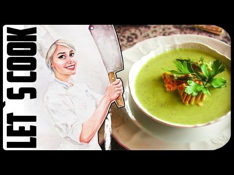 ✿ LET`S COOK ✿ Крем-суп из цуккини с Лососем ♥