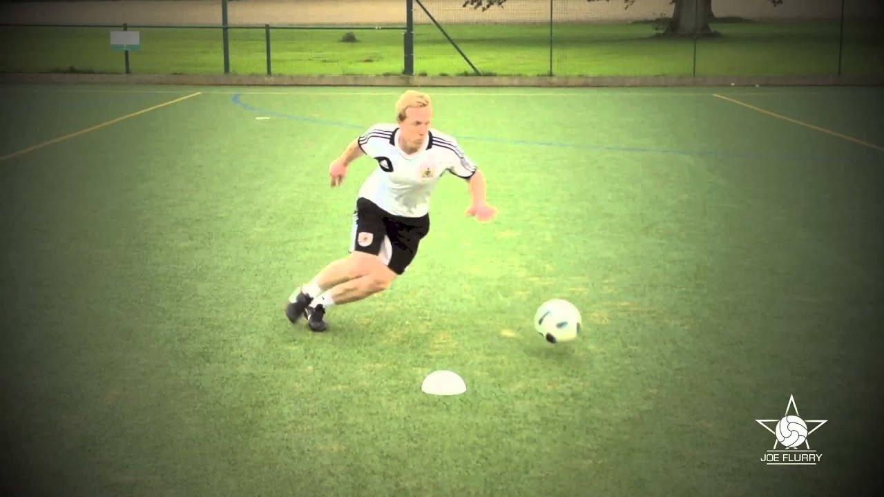 how to do the ronaldo chop amp maradona move football