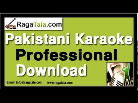 Zara chehra to dikhao - Pakistani Karaoke Track