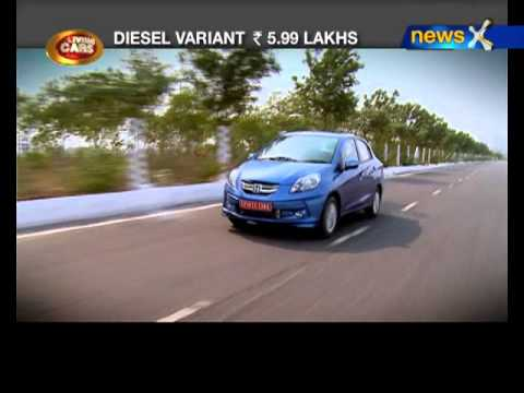 NewsX: Honda Amaze: Petrol vs diesel