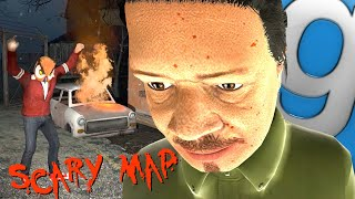 Garry's Mod Not Very Scary Map - Trolling Nogla, Church, Party Room(Gmod Funny Moments)