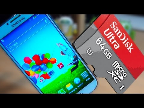 Samsung Galaxy S4 How to Move Apps to SDCard