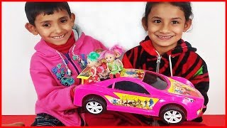☻Super Hero Kids Playing With Baby Dolls ☻ Video for Toddlers and Babies #Children King -27