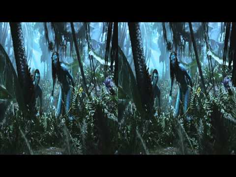 Avatar In 3d Hd Movie Trailer-2b video