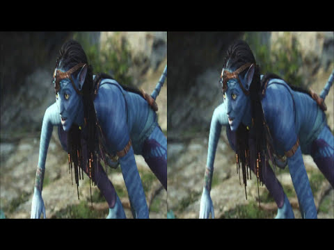 Avatar in 3D HD movie trailer-2b