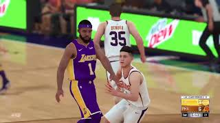 NBA2k18 Playoffs! FIRST ROUND GAME 3 [LAKERS VS SUNS]