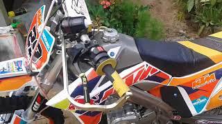 Modifikasi odifikasi motor vixion menjadi trail Keren Terbaru