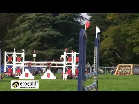 Piggy French and Chase The Moon – Blenheim Horse Trials 2010 – Show Jumping