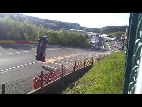 FIA WEC 2018 Spa Francorchamps Crash #17 BR Engineering BR1-AER Eau Rouge