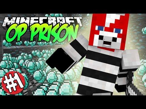 Minecraft OP Prison Server w Jack Ep.1 IM A BILLIONAIRE 1.7.9
