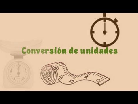 Conversion de unidades de longitud