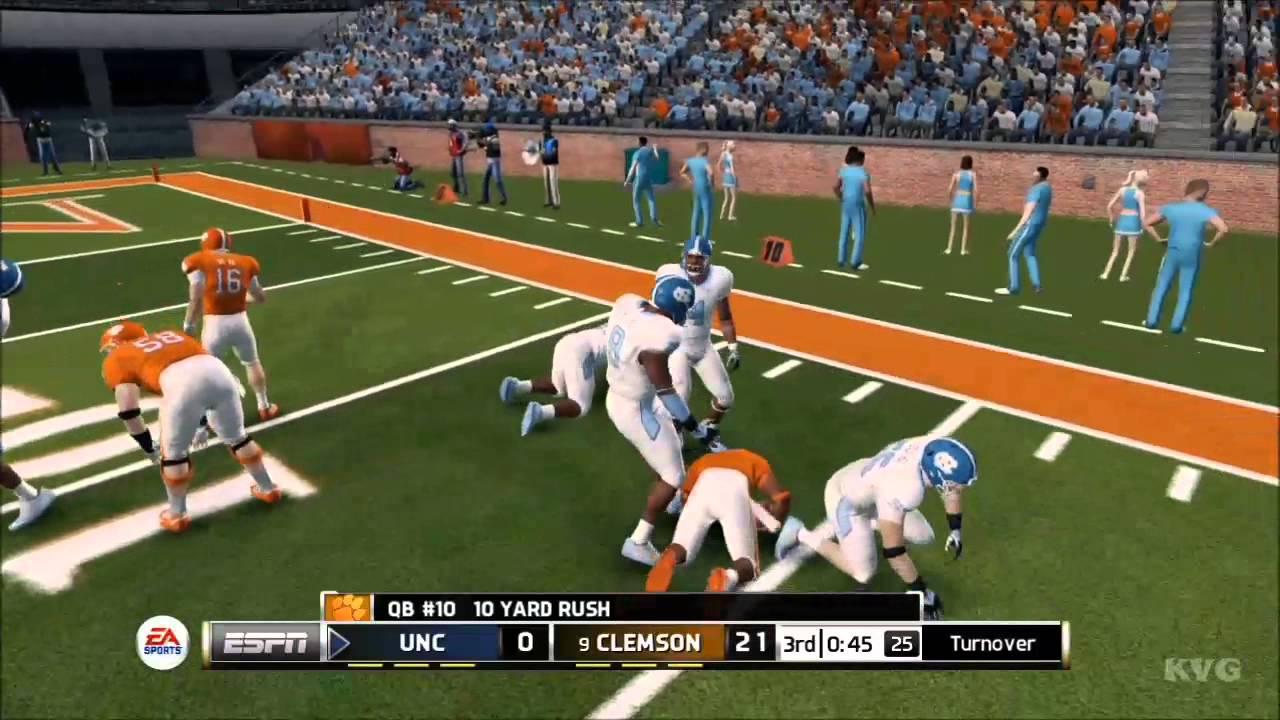 Clemson Carolina Football North [HD NCAA  Gameplay 14 - vs.