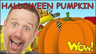 Halloween Pumpkin Story from Steve and Maggie NEW for Kids | Learn Wow English TV for Children