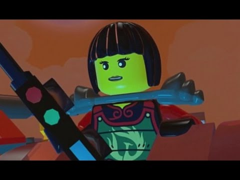 Lego Ninjago: Shadow Of Ronin Walkthrough Part 8 - Ninjago City & The Storm Farms (3ds vita) video