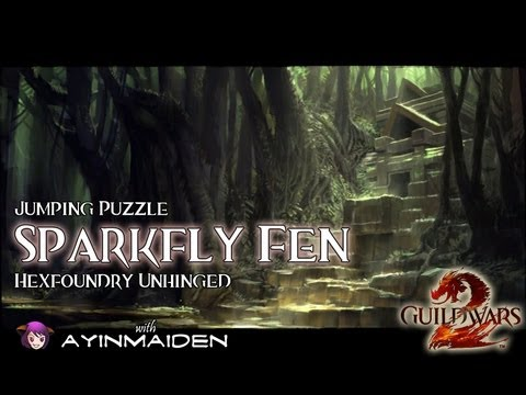 ★ Guild Wars 2 ★ - Jumping Puzzle - Sparkfly Fen (Hexfoundry Unhinged)