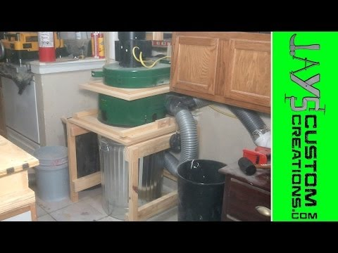 Modified Harbor Freight Dust Collector Video 5 - 068