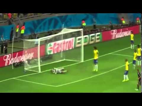 Brazil vs Germany 7-1 FIFA World Cup 2014 - ALL GOALS