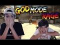 CS:GO God Mode Troll On Little Brother! (RAGE)
