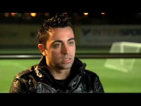 ESPN 2011: Xavi Hernández entrevistado por Fernando Palomo + Messi Balón de Oro 2010