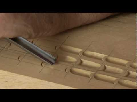 How to Carve a Classic Surface Decoration  -  Woodcarving Workshops