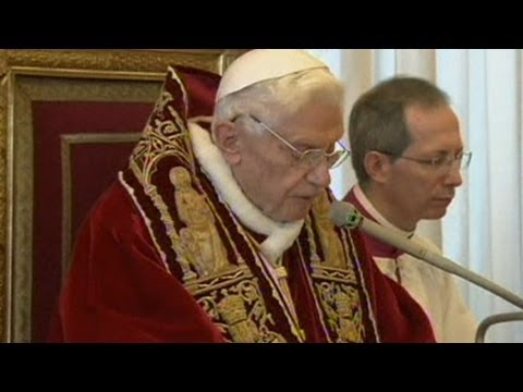 Pope Benedict XVI is to Resign The Final Pope arises in March