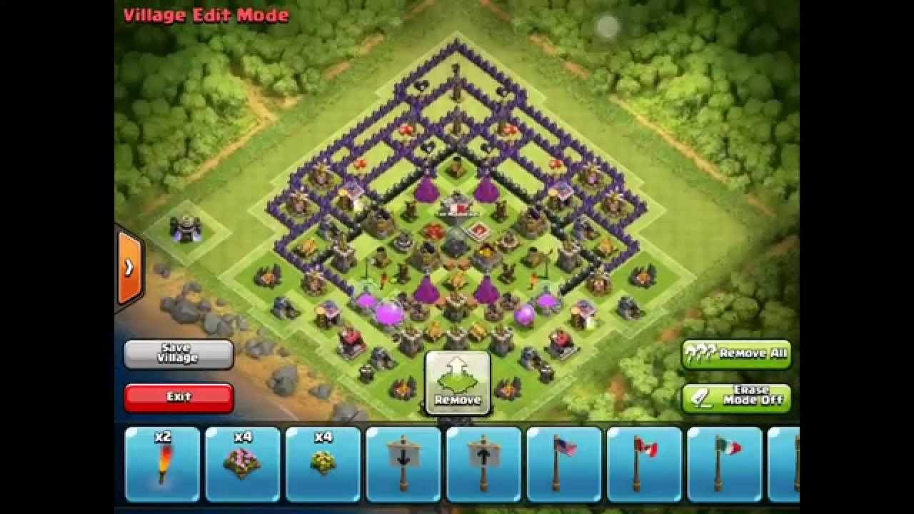 Clash of clans southern teaser farming overload youtube