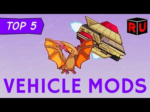 Top 5 Starbound Vehicle Mods: Shuttles, Submarines & More! | Best Starbound 1.0 mods