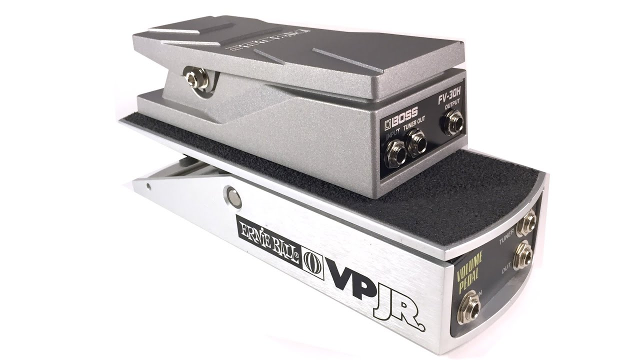 The New Boss FV-30H Volume Pedal | The Gear Page