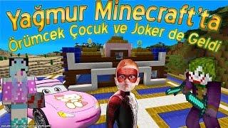 Yağmur Örümcek Çocuk ve Jokerin Minecraft Maceraları Yeni Bölüm