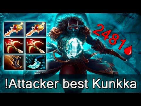Attacker — best Kunkka in the World