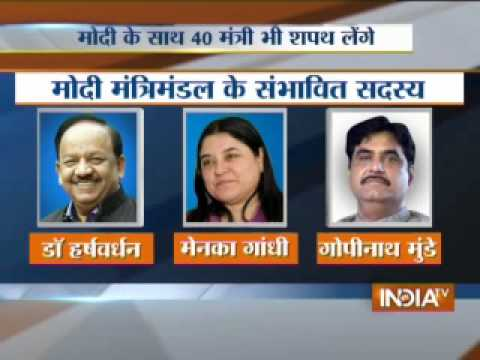 Narendra Modi to be sworn-in as 15th Prime Minister of India today,Part 4