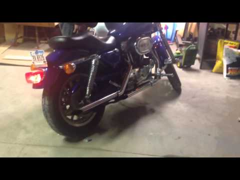 1996 Harley Davidson sportster 883 with big bore kit 1200 conversion