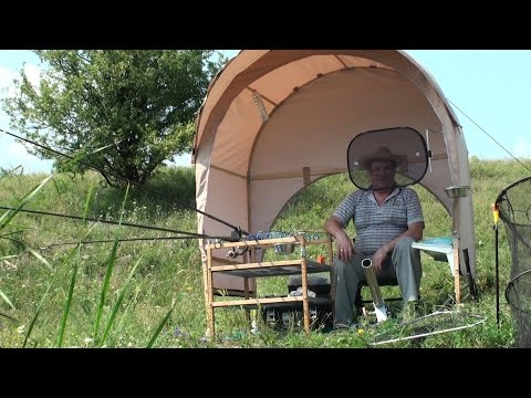 Палатка для карповой рыбалки своими руками