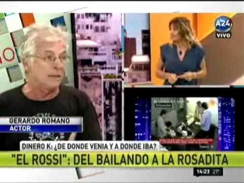 Gerardo Romano se fue de un programa en vivo