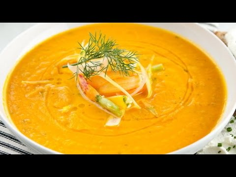 Raw Food Diet Recipes - Carrot and Ginger Soup