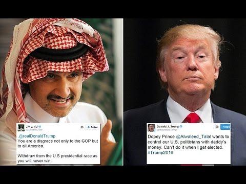 Trump & Saudi Prince Get Into Twitter War