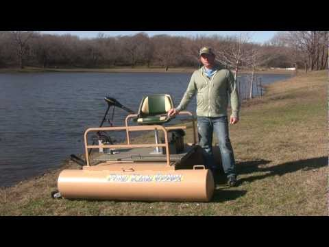 Homemade Mini Pontoon Boat The best mini pontoon boat for