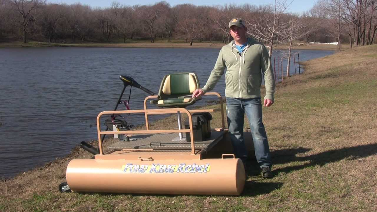 The best mini pontoon boat for fishing youtube for Mini fishing boats