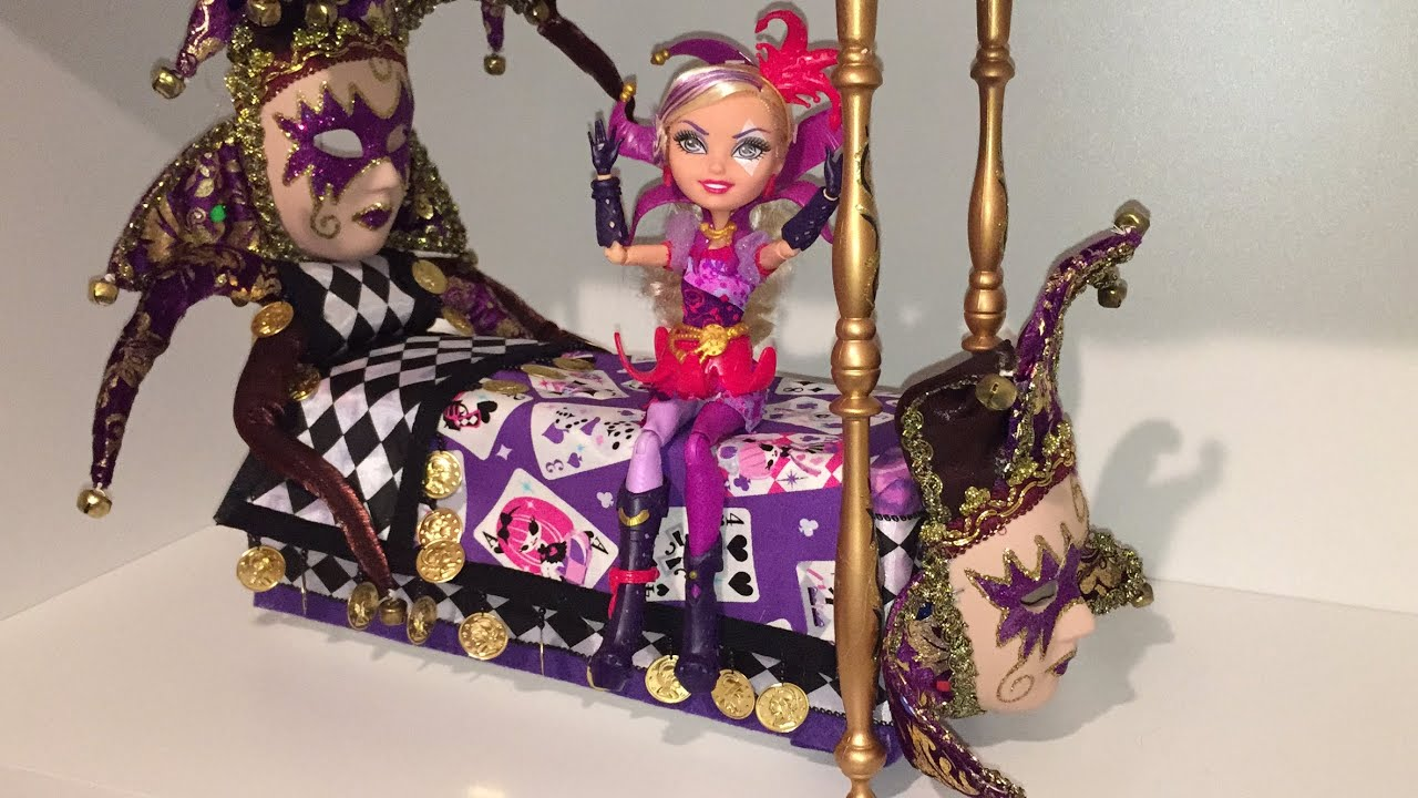 Как сделать диван для кукол эвер афтер хай