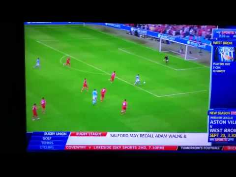Southampton vs Man city all goals and highlights 2012