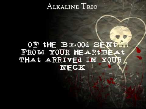 Alkaline Trio-All On Black lyrics