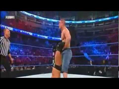 John Cena Vs Shawn Michaels Vs Triple H- Survivor Series 2009 video