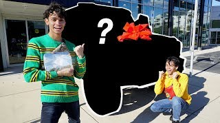 BUYING OUR DREAM CAR WITH DIAMOND PLAY BUTTON!