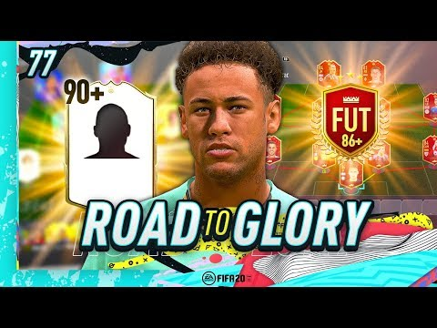 FIFA 20 ROAD TO GLORY #77 - MY NEW ICON & RED 86+ UPGRADE SBC!!