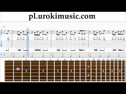 Nauka Gry Na Gitarze Imagine Dragons - Thunder Nuty Poradnik Um-i463