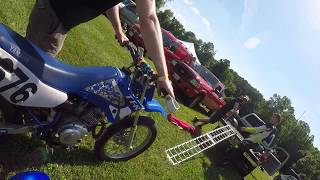 Bryan's First Mini Moto Race - Adult Limited