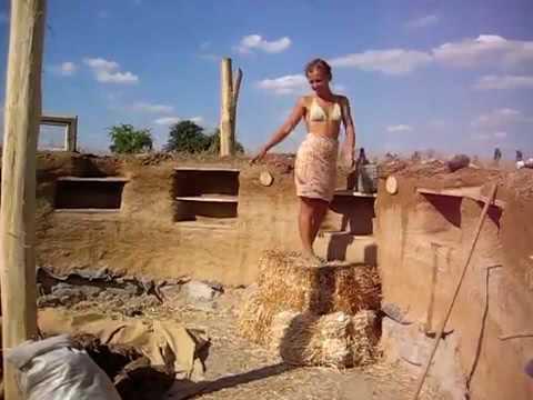 Строительство из самана + изготовление саманных кирпичей (фото)